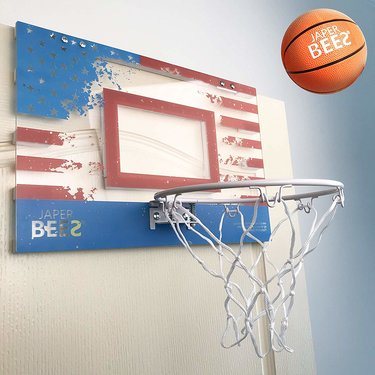 JAPER BEES Over Door Mini Basketball Hoop