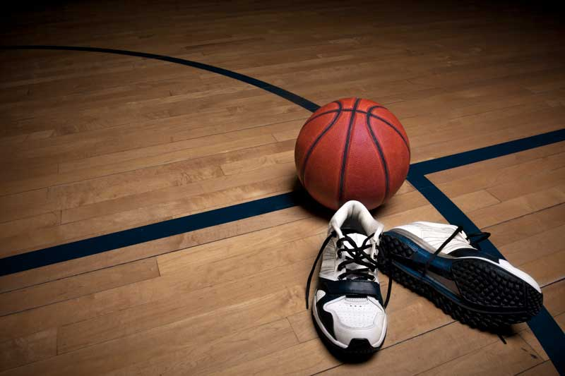 get good grip on bball shoes